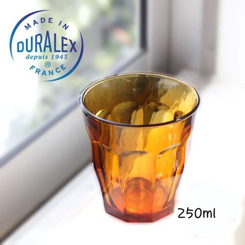 Duralex Set of 6  Amber 250ml