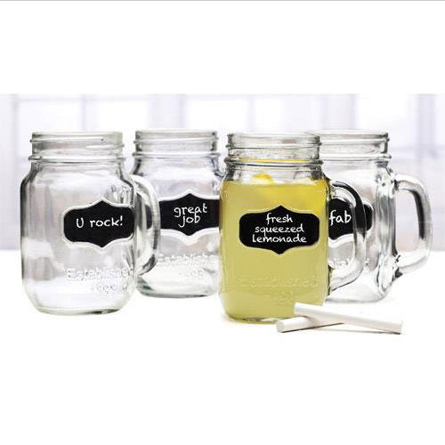 4 Piece Yorkshire mason jar 66959 소매가14.000원